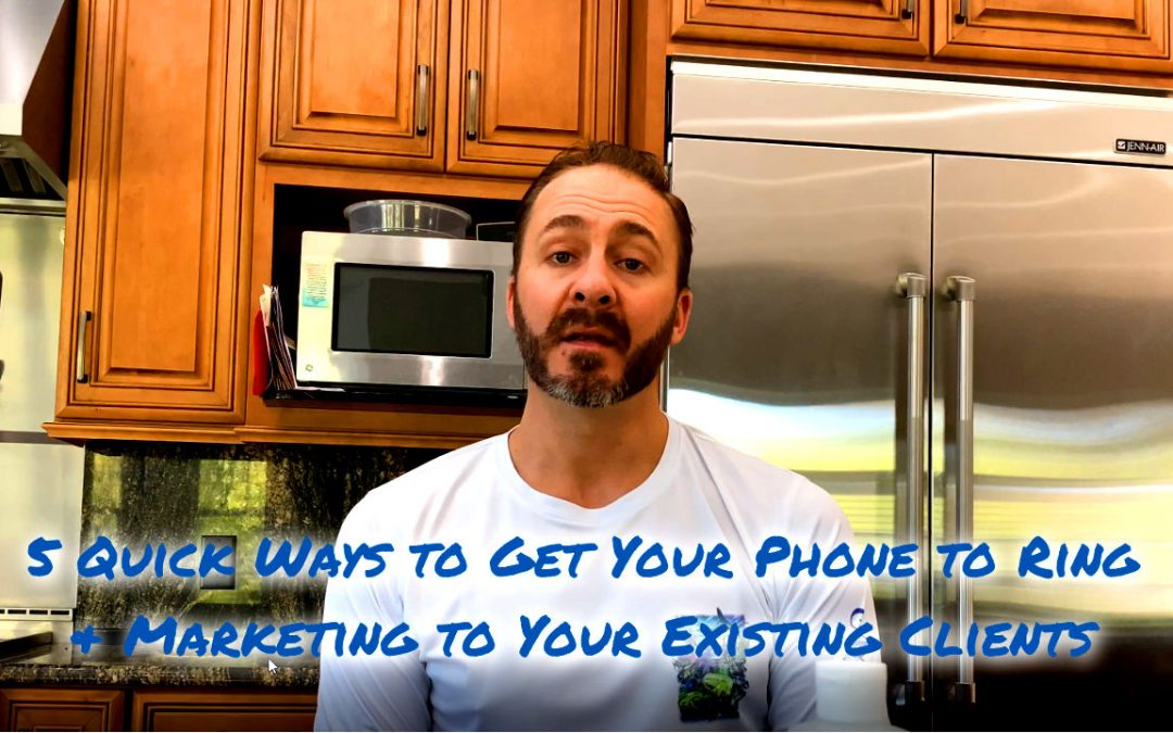 Carpet Cleaning Marketing: 5 Quick Tips To Get Your Phone to Ring